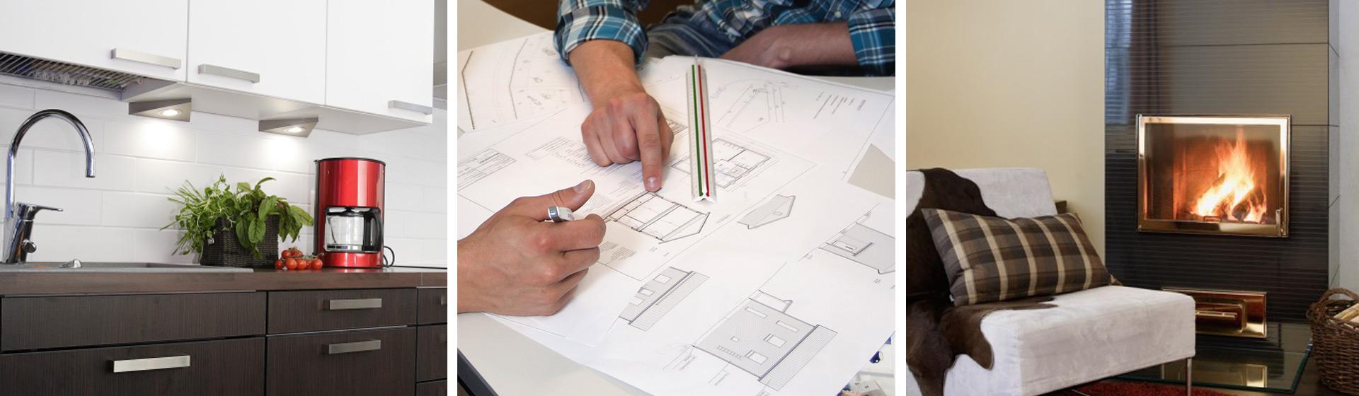 Muurametalot - Suunnittelu