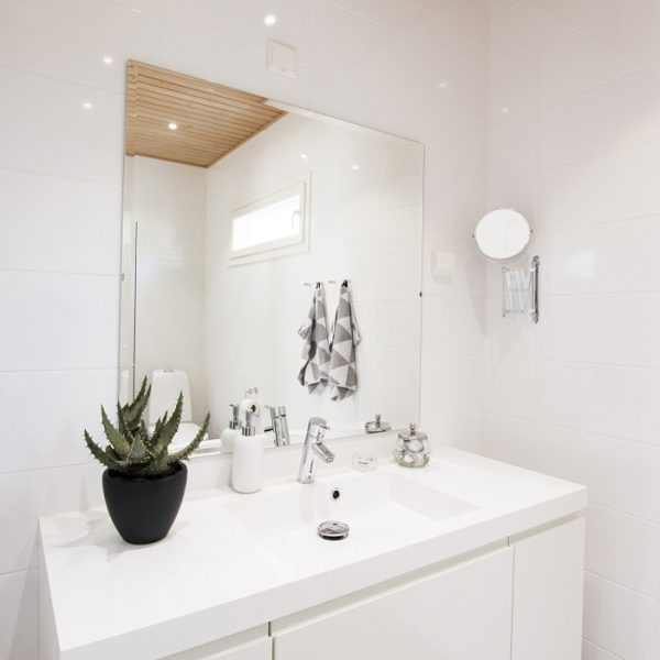 Muurametalot - WC