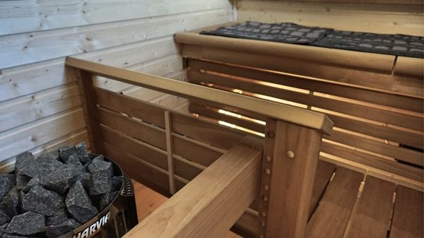 talopaketti avaimet käteen, sauna