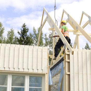 talon-rakennus