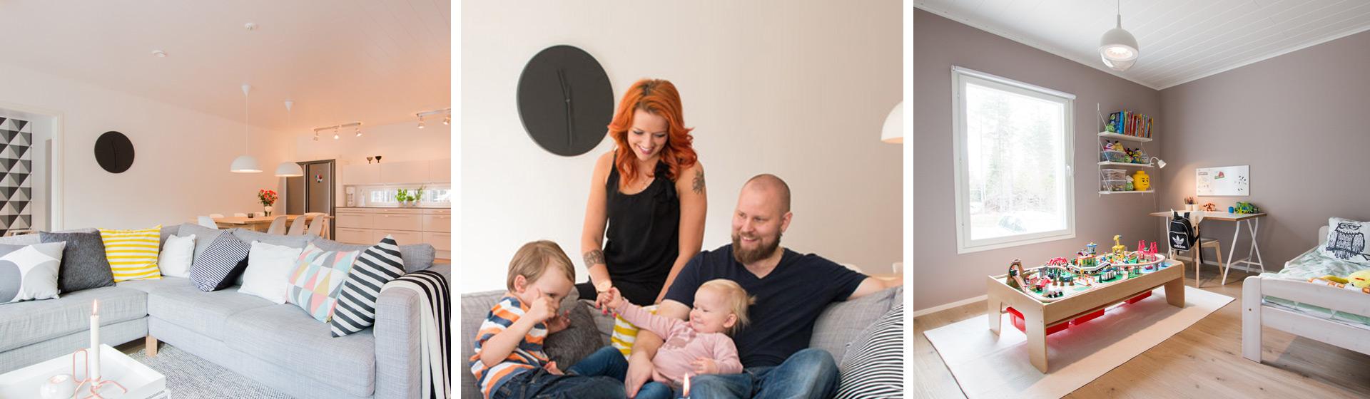 Asiakastarina - Sepposen perhe