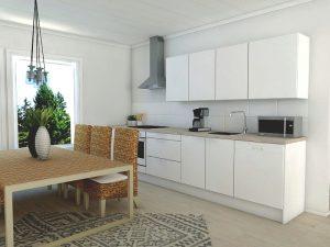 talopaketti - keittiö
