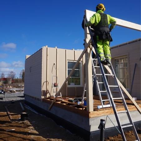 talon rakentaminen