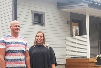 Onnistunut taloprojekti –Nopea ja toimiva konsepti vakuuttivat Samin ja Lauran