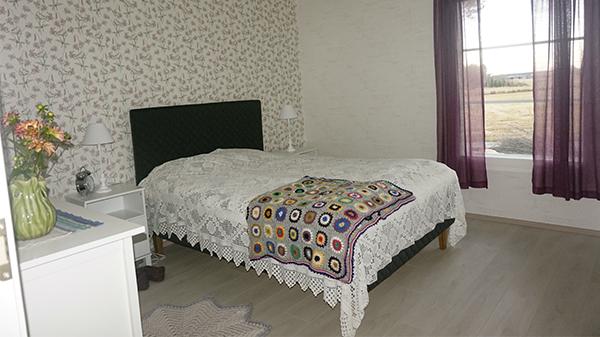 Makuuhuone, avaimet käteen -talo